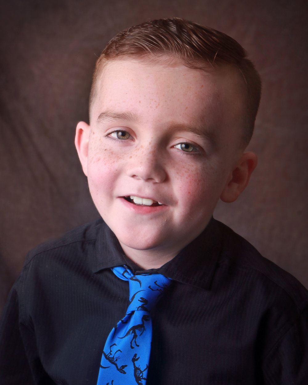 Abe Kelso, 7, rockwall