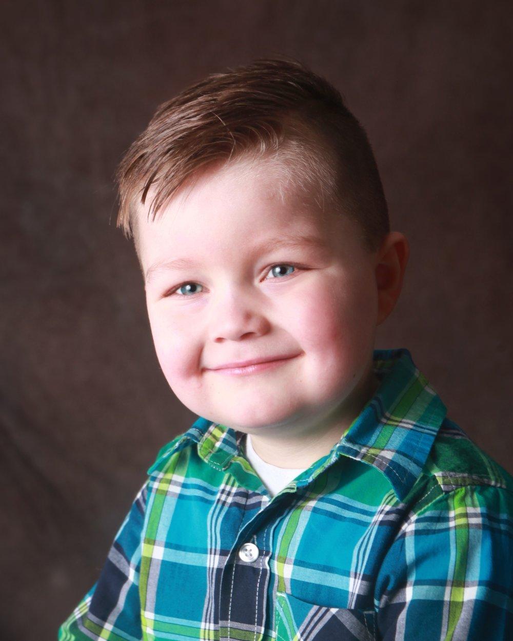 Mason McGaughey, 5, Longview