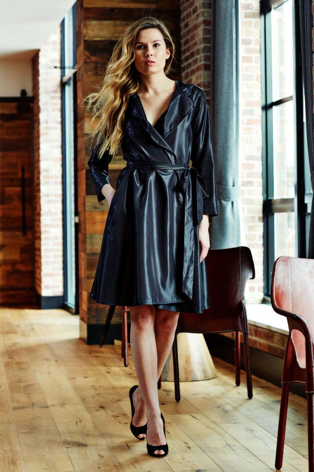 Minika-Ko-Kovasky-Collection-Lookbook-Fashion-Performance-Fabrics-Black-Shiny-Trench-Coat-Dress-with-Invisible-Pockets-Tie-Waist-Business-Casual-Career-Wear-Style.jpg