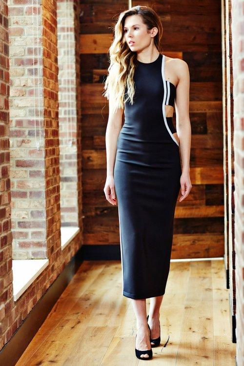 Minika-Ko-Kovasky-Collection-Lookbook-Fashion-Performance-Fabrics-Black-Cutout-Dress-with-Reflective-Stripe-Athleisure-Style.jpg