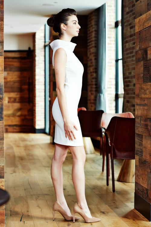 Minika-Ko-Kovasky-Collection-Lookbook-Fashion-Performance-Fabrics-White-Dress-with-Sheer-Collar-Water-Resistant-Business-Casual-Career-Wear-Cocktail-Dress-Sophisticated-Style-2.jpg