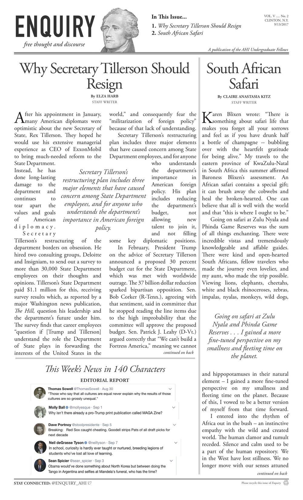 Volume V Issue 2