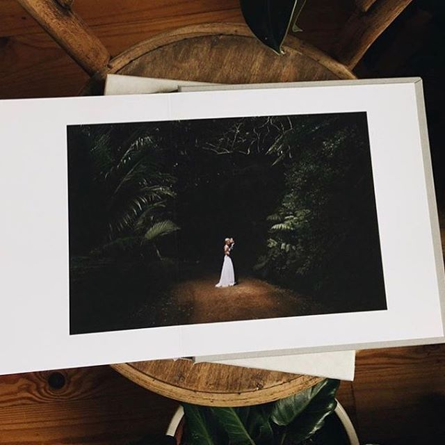Thursday's | Print is always better. Hot off the press and loving reliving these gorgeous shots, from Sash + Ed's wedding on Waiheke Island, captured by the incredible @madelinedruce