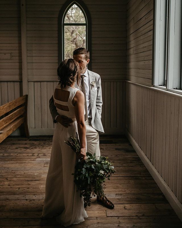 "Tuesday's | ""Relaxed, organic... with a touch of 70s disco"" dream brief from these two legends // RACH + VOSS // Photography @danny.millo / Venue @tanglewoodestate / Florals @floral_architecture / Outfit @silvanatedescocouture / Styling + planning @nowadaysgroup"