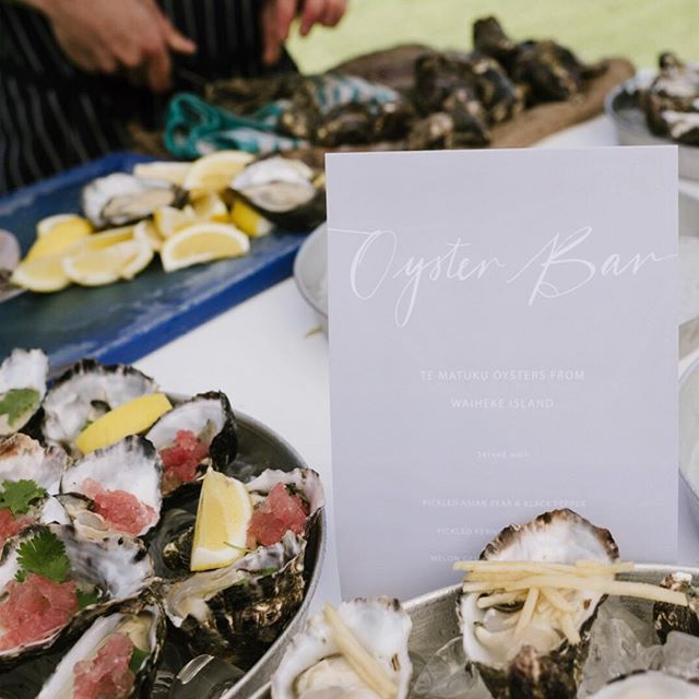 Wednesday's | Waiheke Island, beach side shucking. ⠀⠀⠀⠀⠀⠀⠀⠀⠀ TEAM // Catering @oysterinnstagram / Photography @madelinedruce / Venue @manowarwine / Styling + Planning @nowadaysgroup