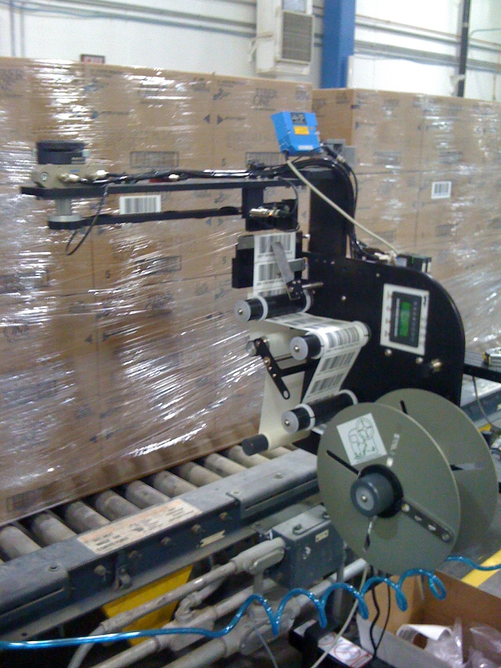 Pallet Labeling Automation