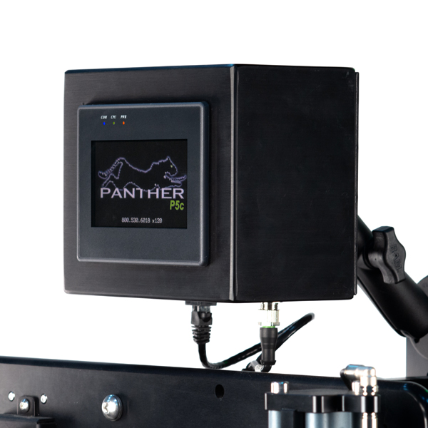 Remote-mounted touch screen display allows for flexible placement options.