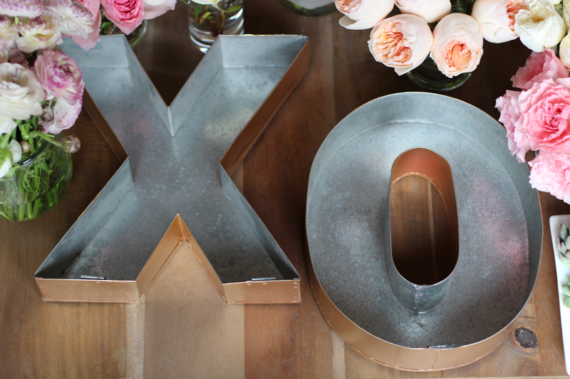 DIY Floral Letters