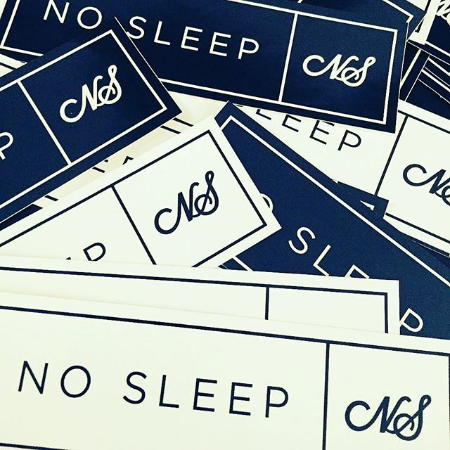 who wants some no sleep stickers 👀😴