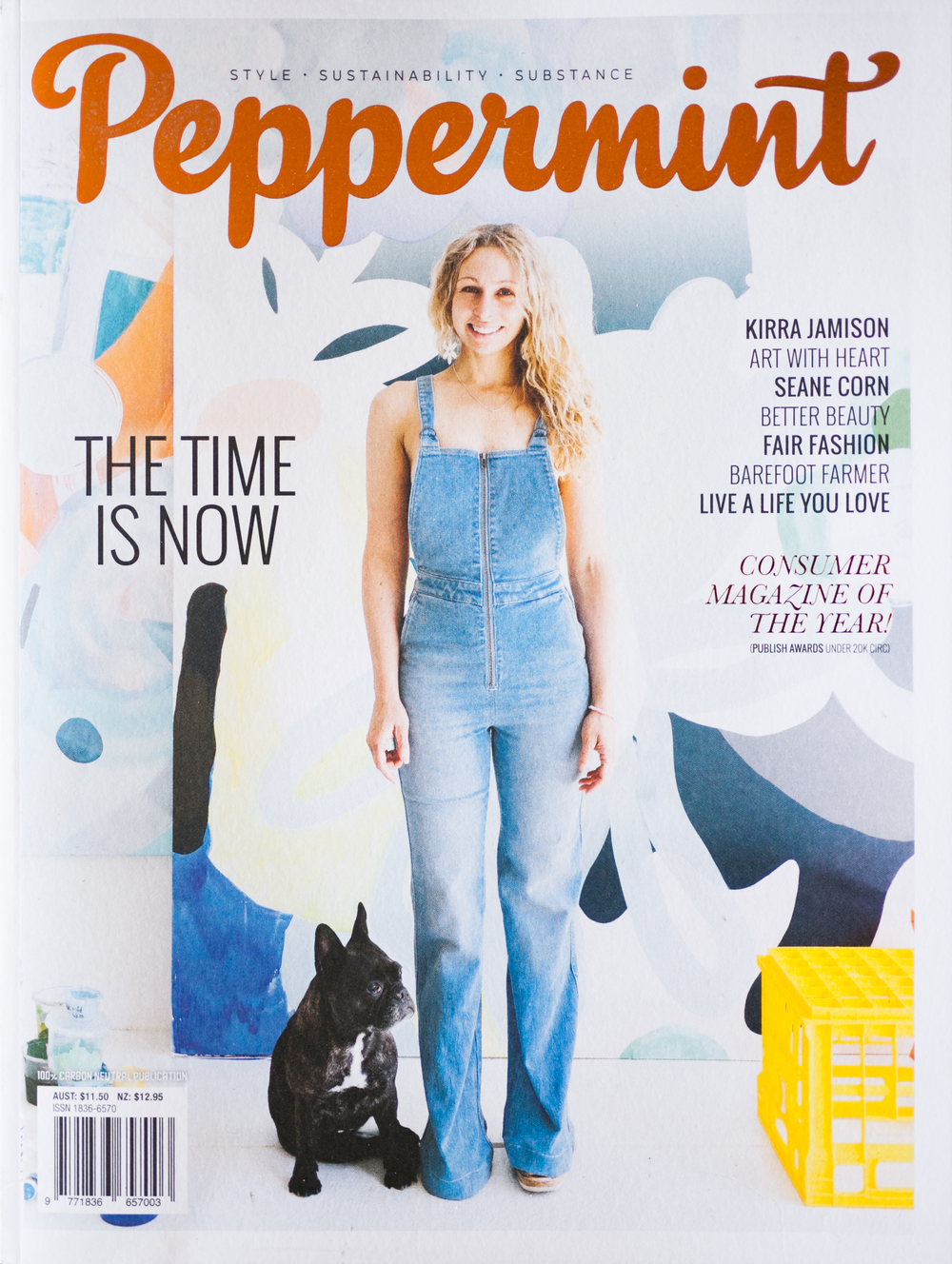 Peppermint Magazine Australia Feature Spread Pg 98/99 November 2015