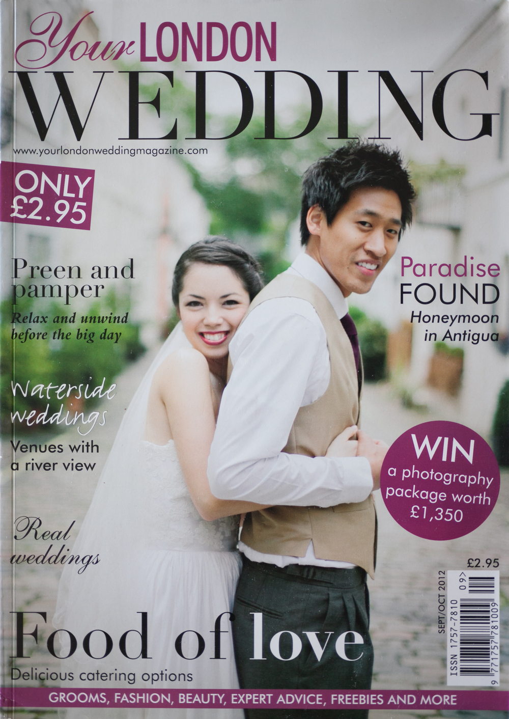 Your London Wedding UK Cover Image October 2012