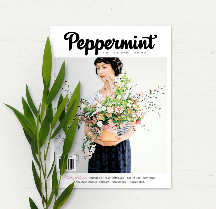 Peppermint Magazine Cover Issue 36