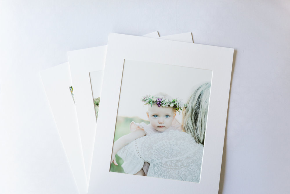Matted Prints -