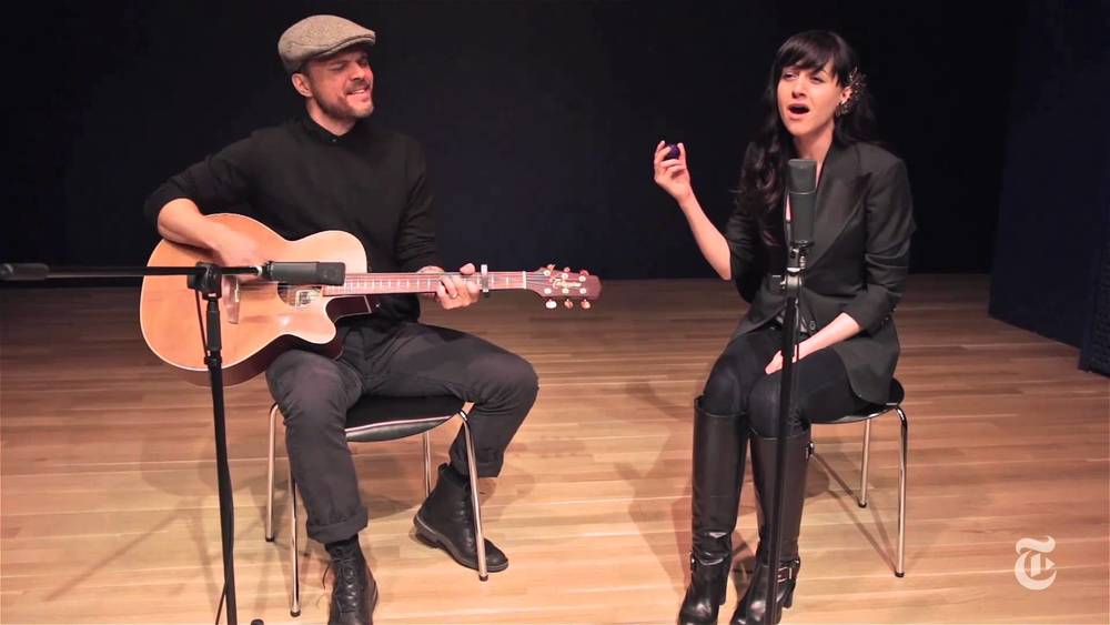 With Lena Hall at New York Times