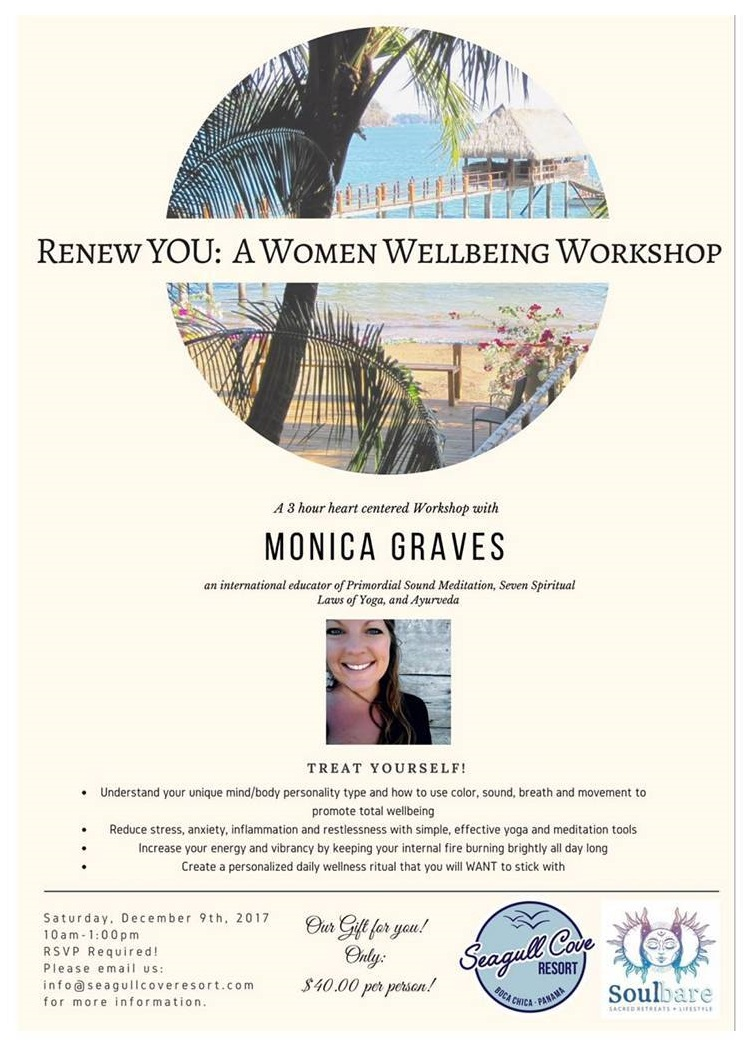 RENEW YOU: WOMEN'S WELLBEING RETREAT