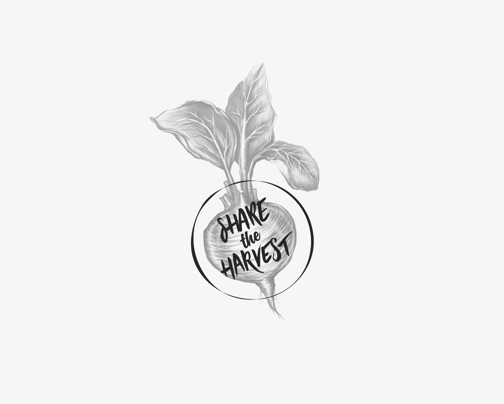 Share the Harvest; food-access program, Brand Identity
