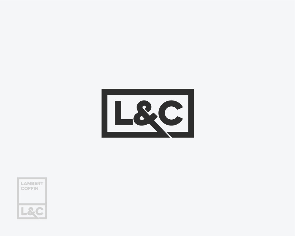 Lambert Coffin Law Firm (unused) Brand Concept