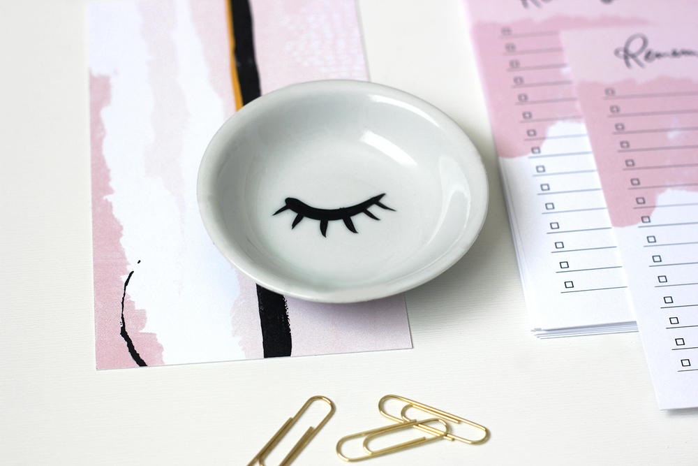 Eyelash dish by Ponder & Muse | Wilde House Paper
