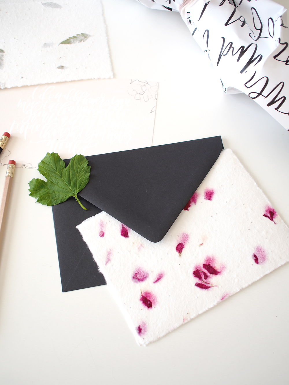 Seed paper notecards | Wilde House Paper