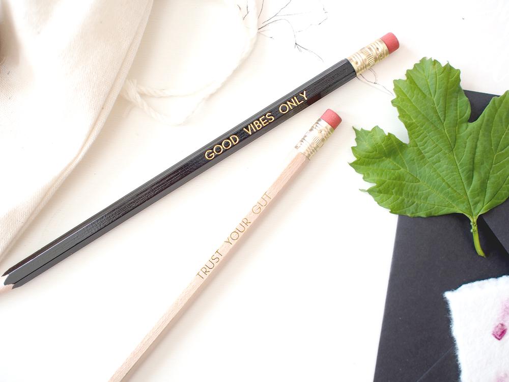 Gold foil pencil set | Wilde House Paper