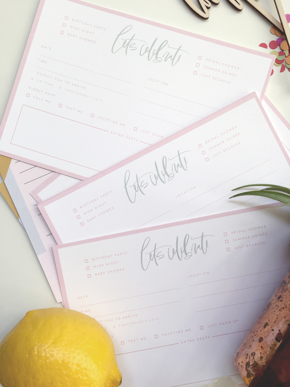Wilde House Paper June Box Stationery