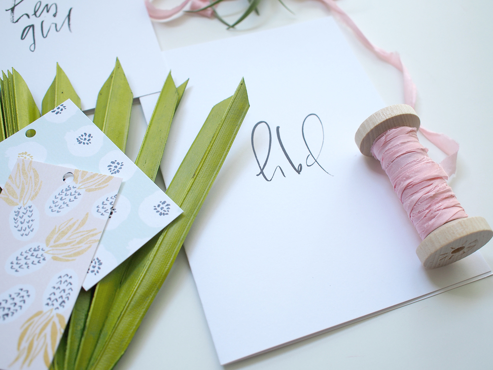 monthly stationery box | Wilde House Paper