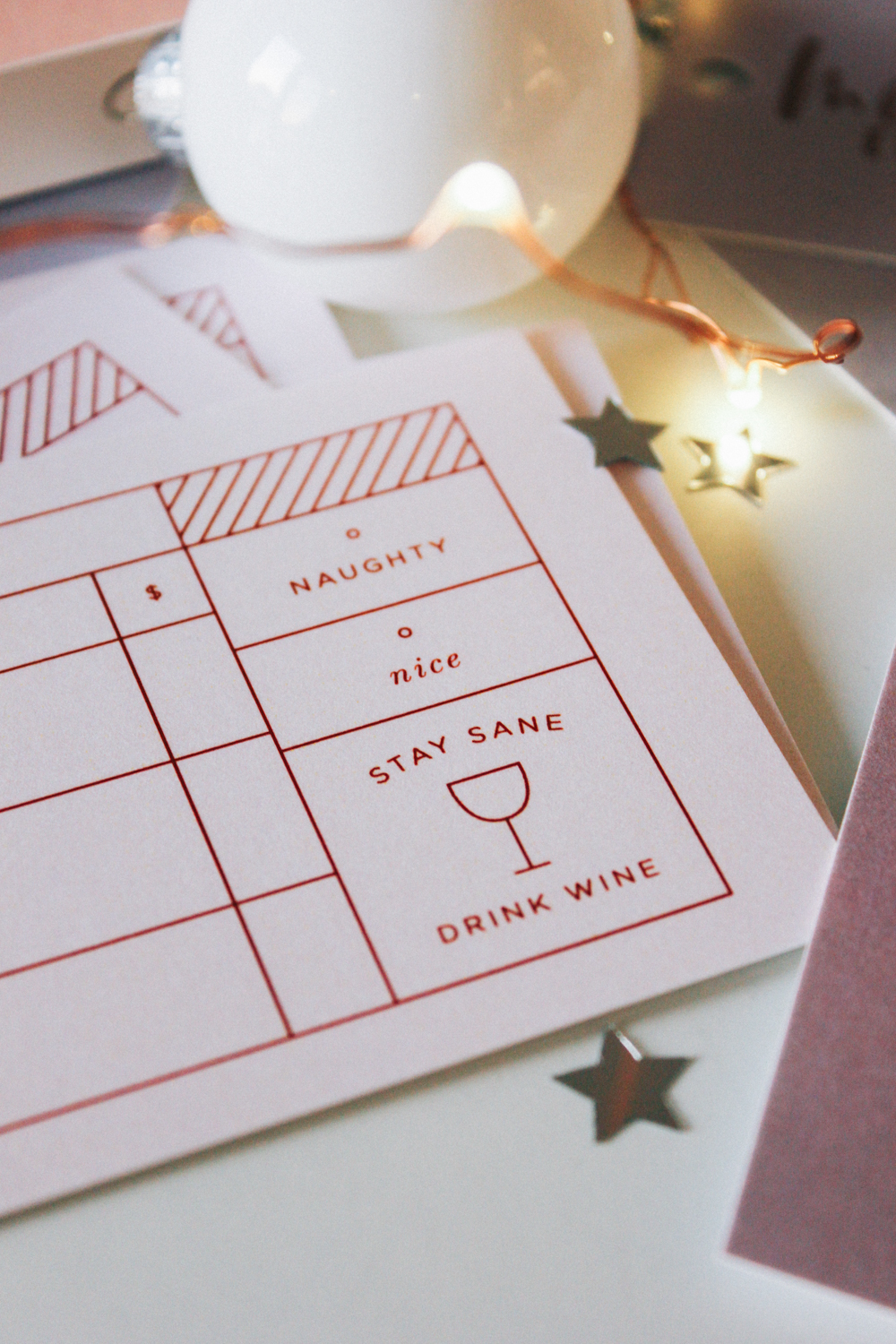 Wilde House Stationery Subscription Box | December '16