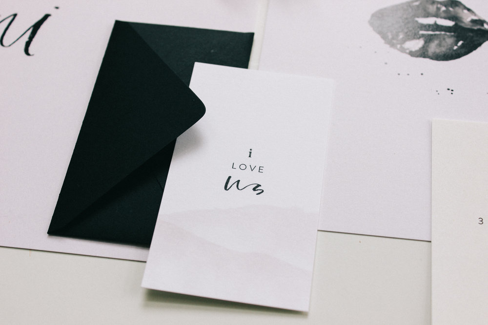 Wilde House Paper Stationery Subscription Box | I Love Us, mini valentines