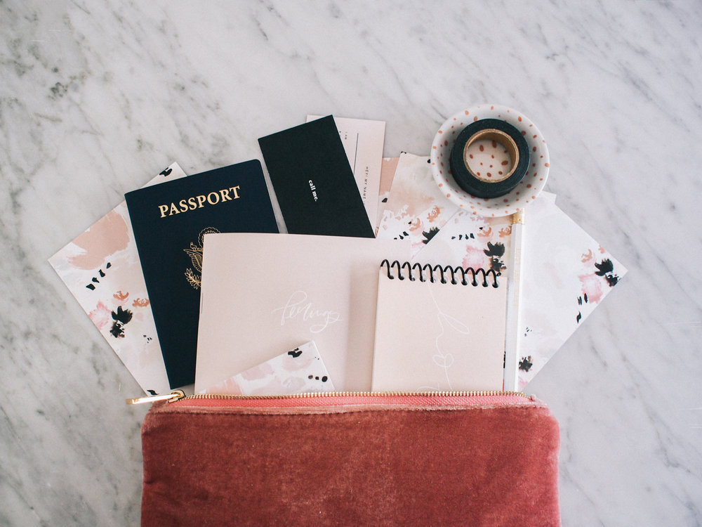What stationery we always travel with | Wilde House Paper