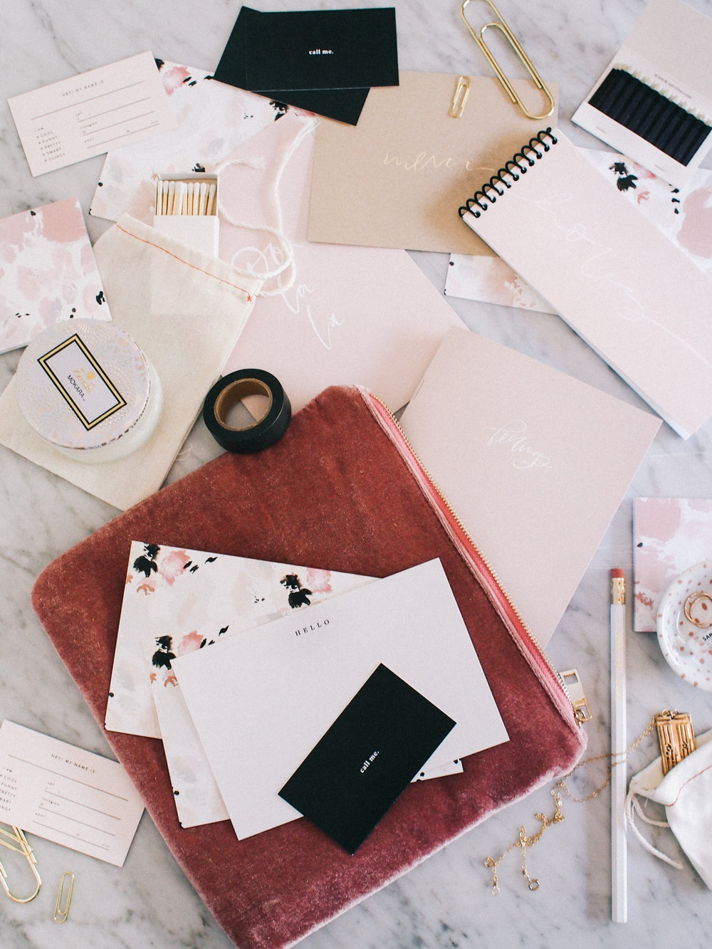 Our stationery essentials for travel | Wilde House Paper
