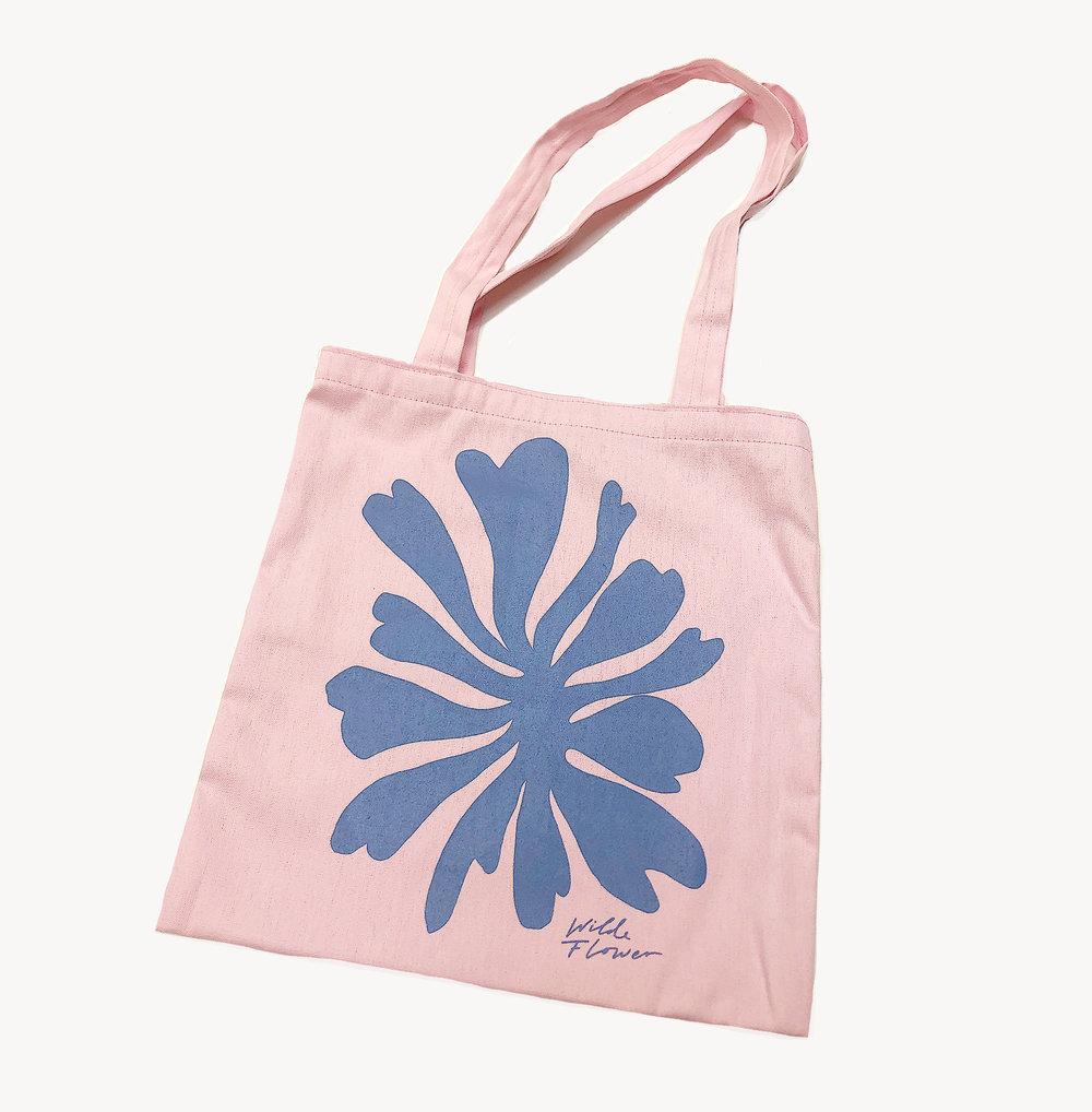 Exclusive Wilde Flower Tote Bag