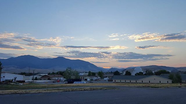 We're headed west, and the podcast will resume once we have a new home base this week. But for now, enjoy this badass Bozeman, Montana sunrise, bitches!