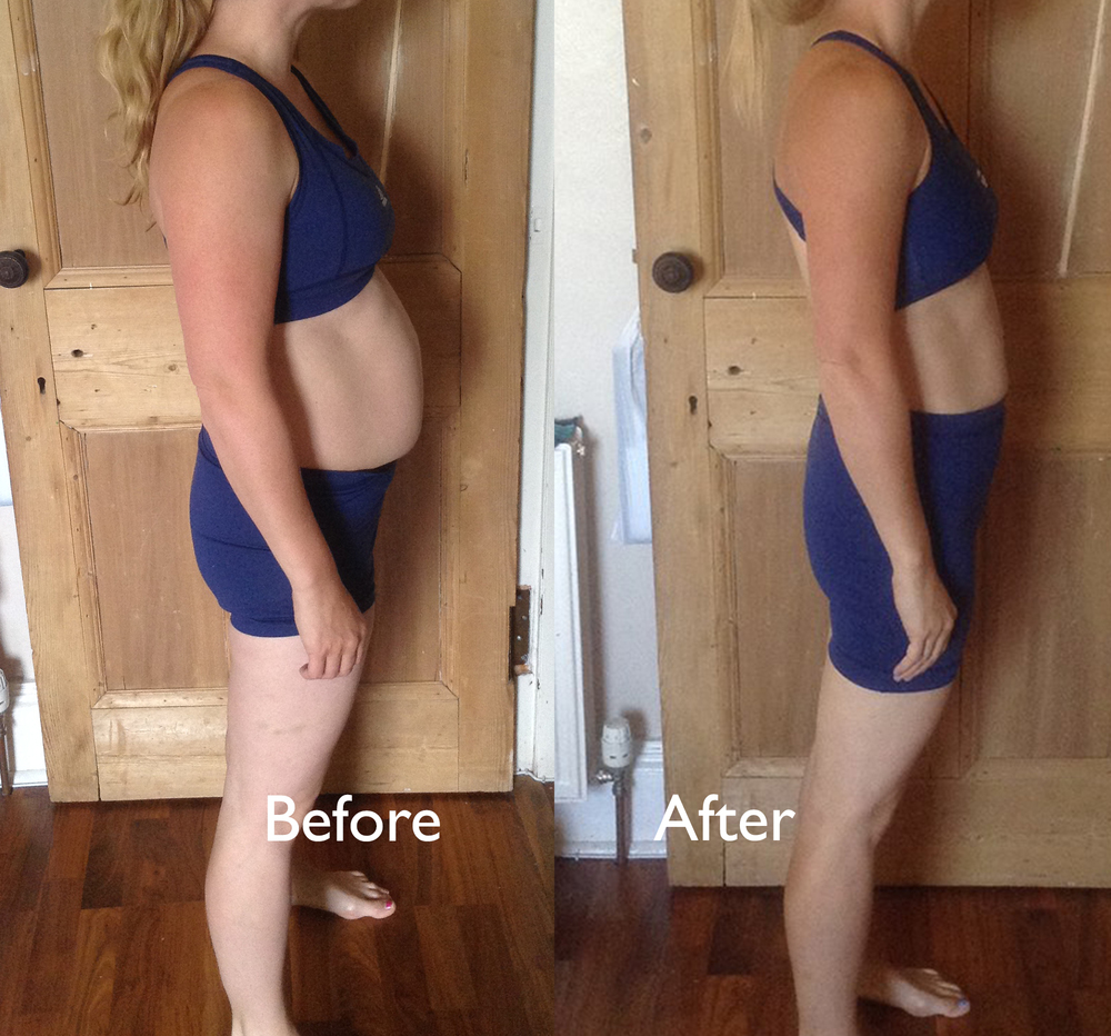 Lost 7.5 inches off her waist in 6 weeks