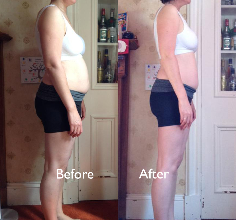 Lost 8.5 inches off her waist in 6 weeks