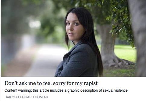 Nina Funnel's account of victim blaming after she was raped is a must read