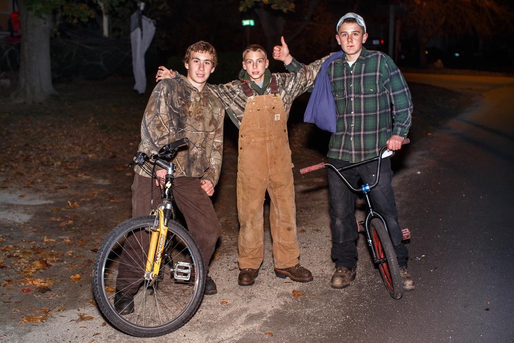 Raymond, Maine. Halloween 2014