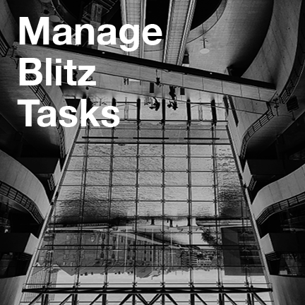 Manage Blitz Tasks