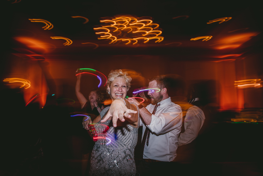 creative raleigh wedding reception photography