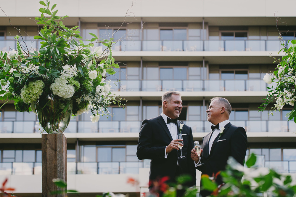 umstead hotel and spa same sex wedding photos