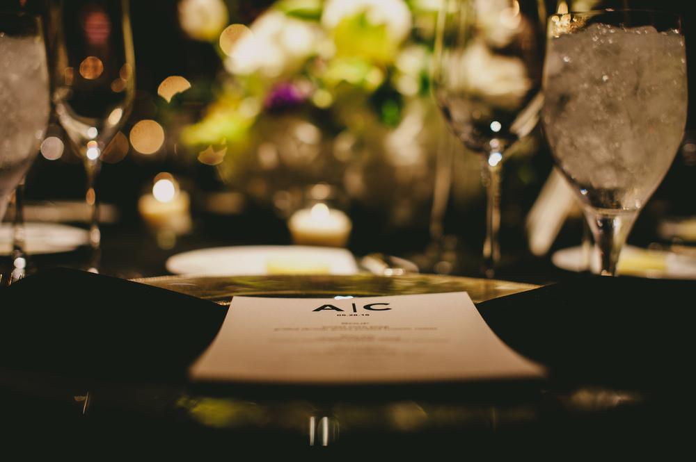 classy wedding reception menu cards