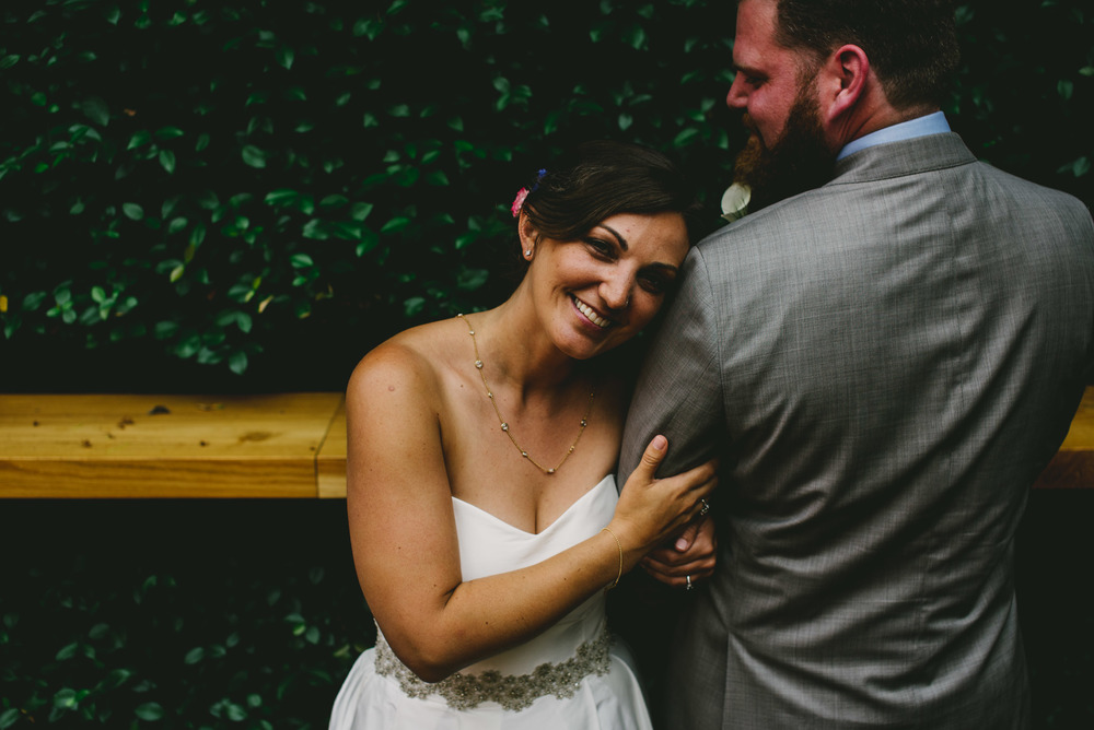 chapel hill wedding bride and groom photo