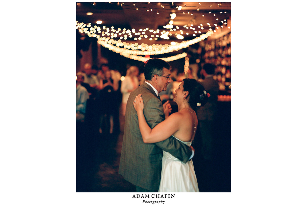 chapel hill wedding father and daughter dance