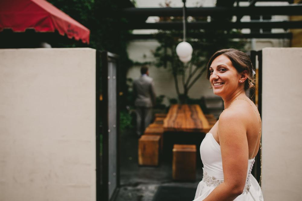Lantern wedding bride