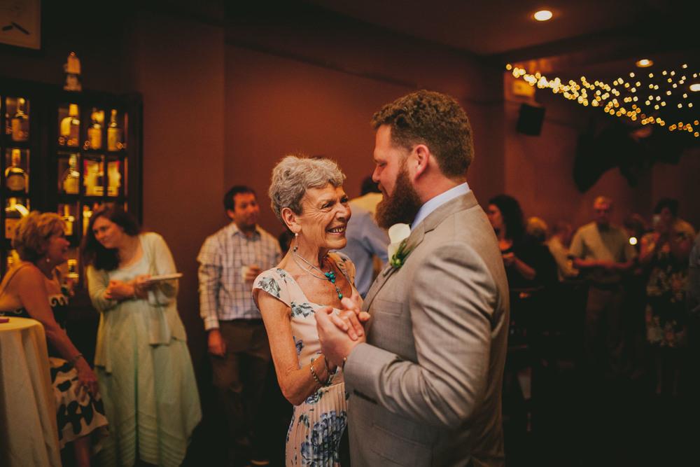 crunkleton wedding mother and groom dance