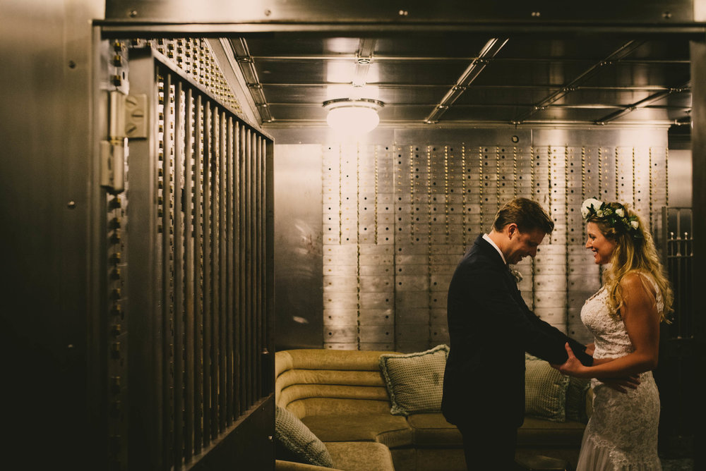 First Look in Durham, NC Bank Vault