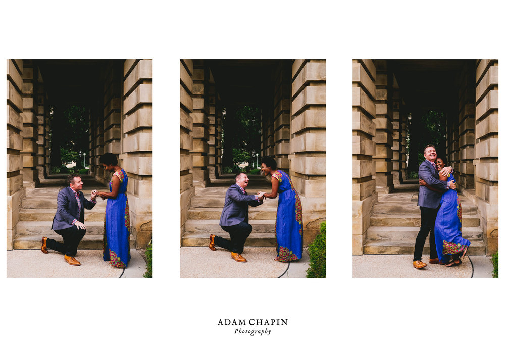 Raleigh Capitol Building Wedding Engagement