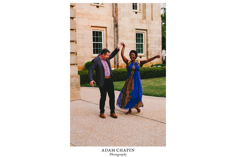 Raleigh Capitol Building Engagement Photos