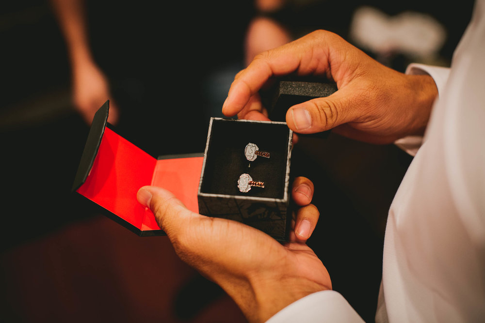 groomsmens superhero cufflinks