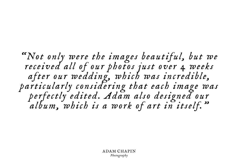 raleigh nc wedding photographer adam chapin photography client reviews