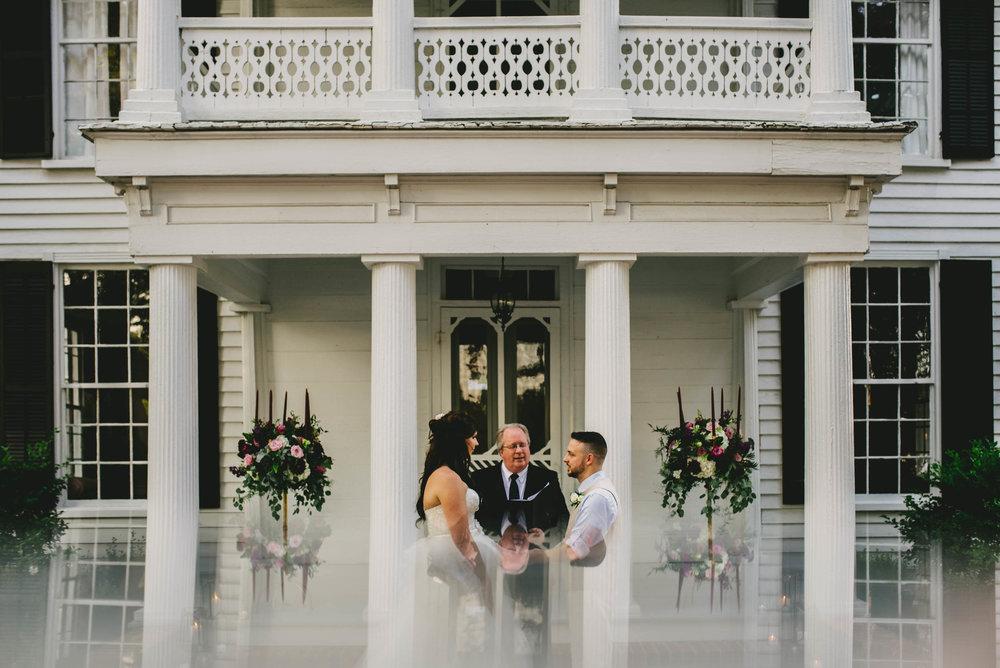mad dash wedding ceremony photo